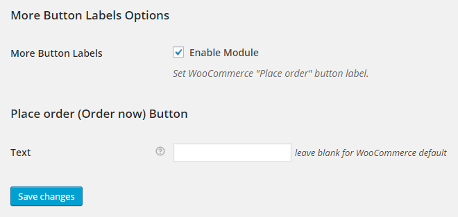 WooCommerce More Button Labels